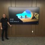 "Boardroom 98"" 4K Display"